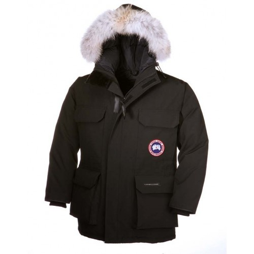 canada goose expedition parka svart